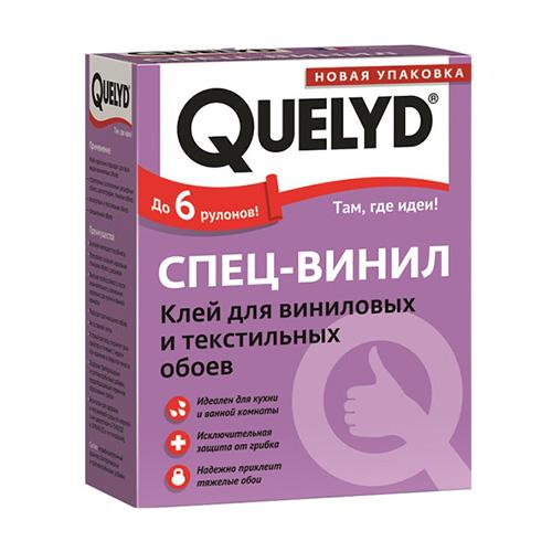 Клей обойный Quelyd 300гр спец-винил