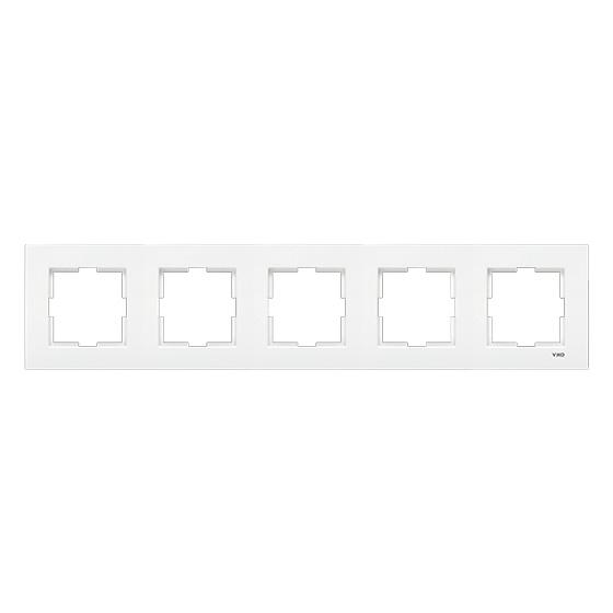 Рамка 5-я Viko karre белая