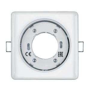 Светильник софит Navigator GX 53 квадратный белый