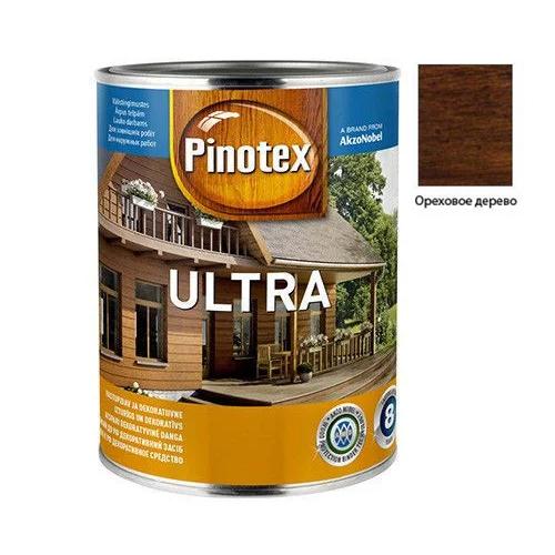 Pinotex Ultra 1л Ореховое дерево
