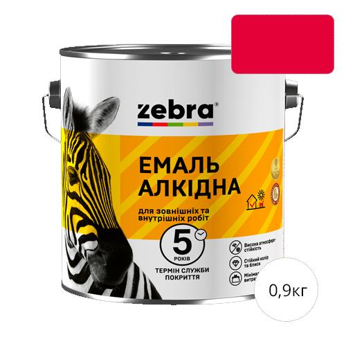 Zebra 0,9 Красная