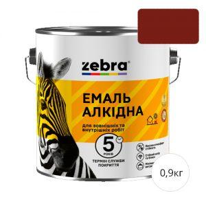Zebra 0,9 Красно-коричневая