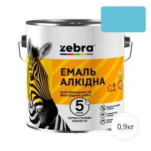 Zebra 0,9 Светло-голубая