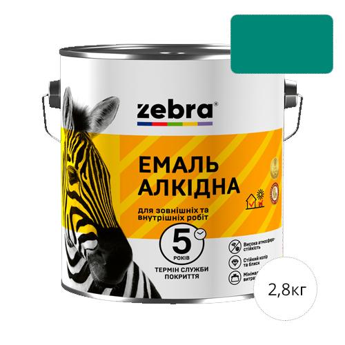 Zebra 2,8 Бирюзовая