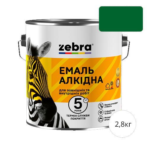 Zebra 2,8 Зеленый изумруд