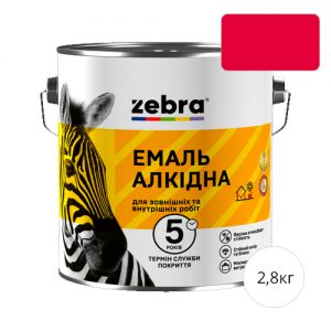 Zebra 2,8 Красная
