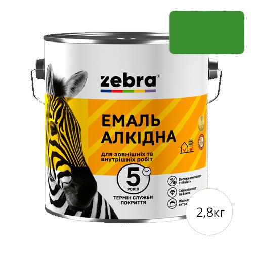 Zebra 2,8 Светло-зеленая