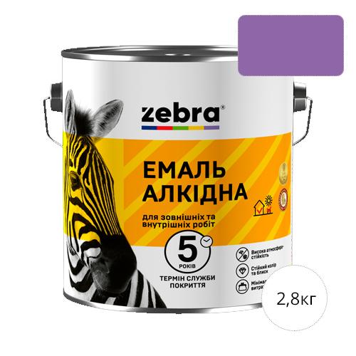 Zebra 2,8 Светло-фиолетовая