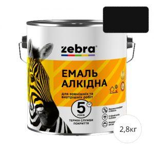 Zebra 2,8 Черная