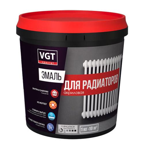 Эмаль VGT для радиаторов 1кг
