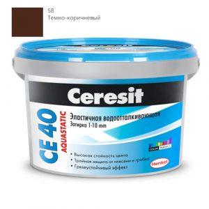 Ceresit CE 40 темно-коричневый