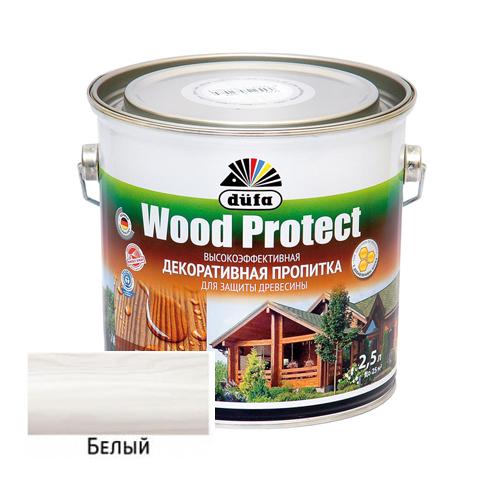 Пропитка Dufa Wood Protect Белая