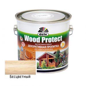 Пропитка Dufa Wood Protect Бесцветная