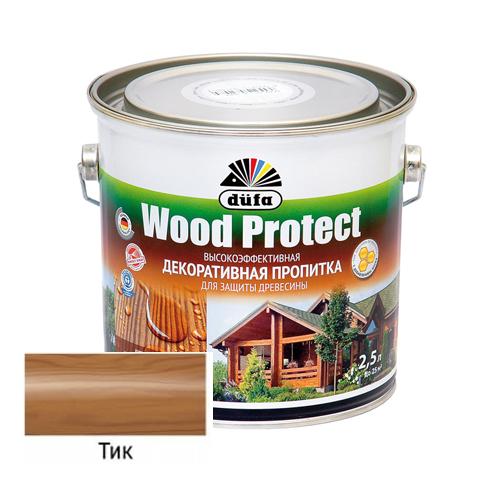 Пропитка Dufa Wood Protect Тик