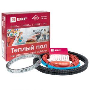 Теплый пол EFK нагревательный кабель